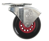 """2-1/2"""" polyurethane wheel with mounting bracket Includes hardware Fits model: MTLV6RIV Universal roller"""