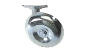 "#44- 2-1/2"" steel wheel with mounting bracket"