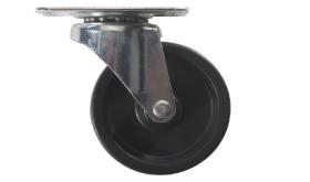 "#66R- 2-1/2"" polyolefin wheel with mounting bracket"